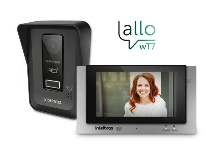 Videoporteiro Wi-fi Allo WT7 Intelbras – Converse e abra fechaduras pelo display touch screen ou de qualquer lugar do mundo.